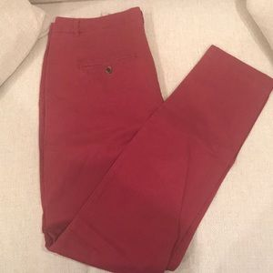 H&M Size 10 Red Khakis